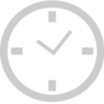 Clock icon indicating On-Demand Delivery of Audience Focused Content